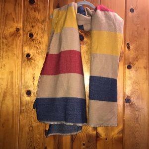 Zara oversized blanket scarf